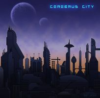 .:Cerebrus City - Design:. by JessFox