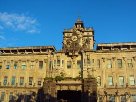 UST Main Building by fayeorwhatsoever