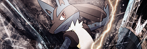 Lucario Tag by MonkeyGFX