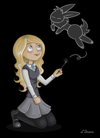 Luna Lovegood by Leenspiration