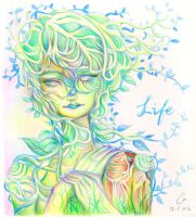 New Life, Start Blooming by Carol-NPY