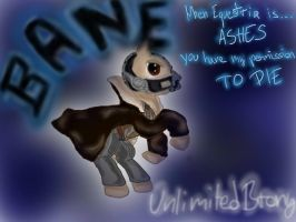 The Dark Pony Rises - BANE by UnlimitedBrony