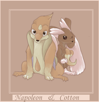 Napoleon and Cotton by Sony-Shock