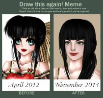 Before-After by GentianaFlavis