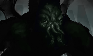 Cthulhu or Zoidberg by LunchBagArt
