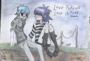 Love Forever Love is Free by beacam41