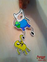 Finn and Jake Paper Child by Asten-94