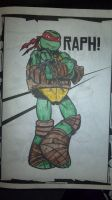 Raph Colored by Me by NinjaTurtleFangirl