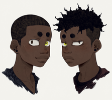 Twins by thatangryghost