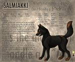 Salmiakki ref sheet by JiiBee