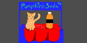 Commission: Pumpkin Soda by AmaltheaTwin