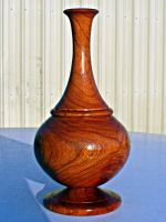 Honey Mesquite Vase by sakuraknight2000