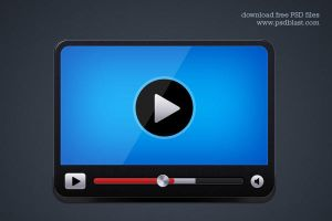 Video player icon by psdblast