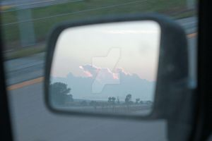 Dawn-in-the-rearview by photogatlarge