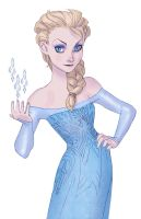 Elsa sketch by Mirthrynn
