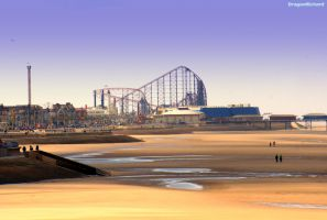 Blackpool South Beach by DragonRichard