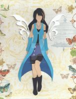 PaperCraft- Rinoa by Song64