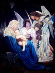 The virgin and the angels by YugeshPandey