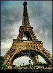 Eiffel Tower HDR test by havocPigeons