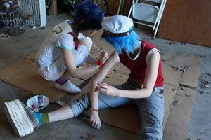 Noodle Tattooing 2-D by FunnaCosplay
