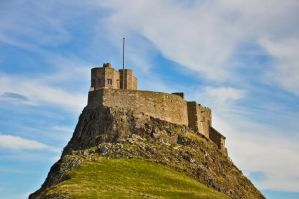 Lindisfarne Castle IV by scribbleXcore