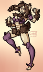 COMMISSION: Panne by Cubesona