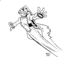 Rocketeer  Flying inks by madman1