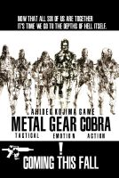 Metal Gear Cobra poster by OverlordStarScream