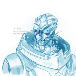 Space Husbando, ehm, I mean Garrus Vakarian by Ly-s