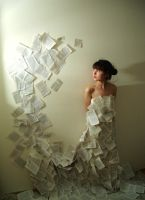 Paper Dress by chouk-s
