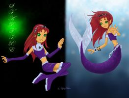 Starfire by CeciliaSal