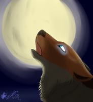 The Cry Of The Moon by nanochetha