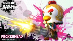 BHB Team Fluf Peckerhead chicken Wallpaper by SpicyHorseOfficial