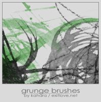 """grunge"" brushes by kahara"