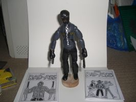 BAD ASS ACTION FIGURE with comics 01 by ztenzila