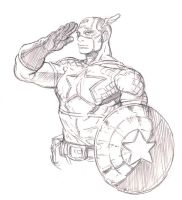 Captain America by dogsup