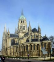 Cathedral of Bayeux by UdoChristmann