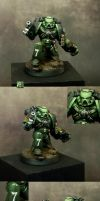 Salamander Space Marine 2 by MassIveVoodoo