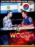 CHOI_SAGAT VS INFILTRATION PROMO POSTER by Sinfrid