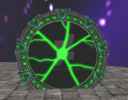 Borg Stargate from SecondLife by fraterchaos