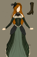 Steampunk Clothing Design by Jadegreenjr