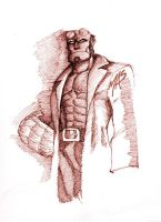 Hellboy by theMASman