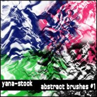 Abstract Brushes 1 by yana-stock