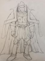 warrior sketch by tomtensrival