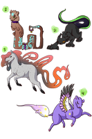 Adoptable Batch ::CLOSED:: by SpookyBjorn