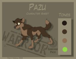 Pazu - Character Sheet by Skailla