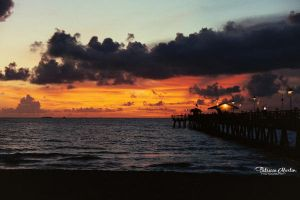 Sunset on Fort Lauderdale by t-R-i-S-h