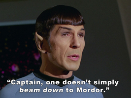 Spock's Speaks Truth by brainhiccup