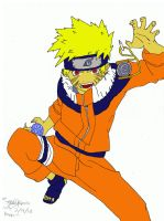 Naruto: basically colored by Madelawliet