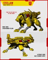 CYBERTRONIAN STEELJAW by F-for-feasant-design